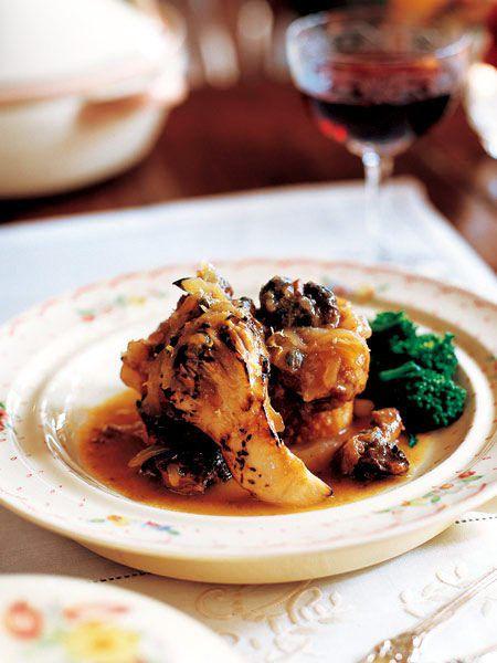 【ELLE a table】豚バラ肉とさざえ、舞茸の煮込みレシピ|エル・オンライン
