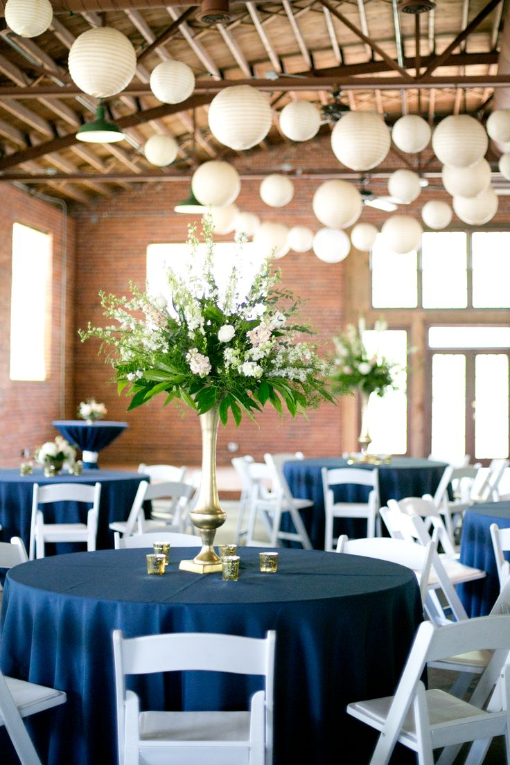 White Lantern String-Light Reception Decor