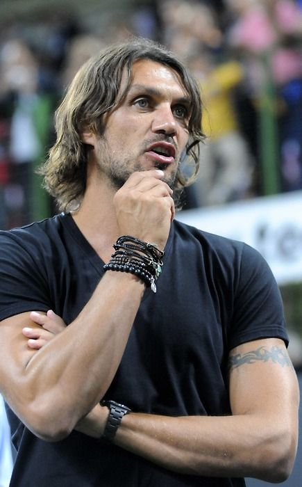 Paolo Maldini is my favorit player legend el capitano ac Milan World cup winner sports legend