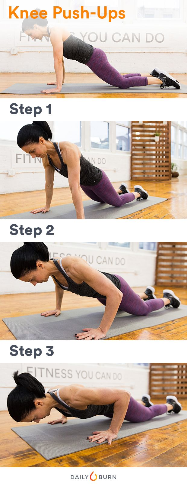 THIS Is How to Do Perfect Push-Ups (Even on Your Knees) Find more relevant stuff: victoriajohnson.wordpress.com