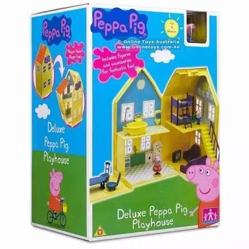Peppa Pig Casa Deluxe Jugueteria  Bunny Toys - $ 2.299,90