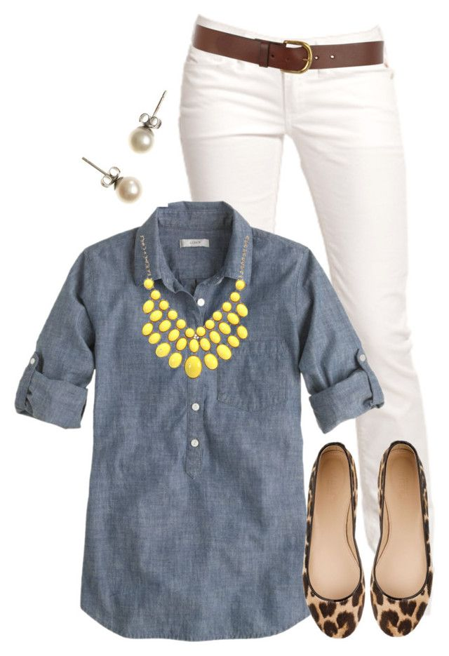 """Teacher, Teacher 154"" by qtpiekelso ❤ liked on Polyvore featuring Replay, J.Crew and Warehouse"