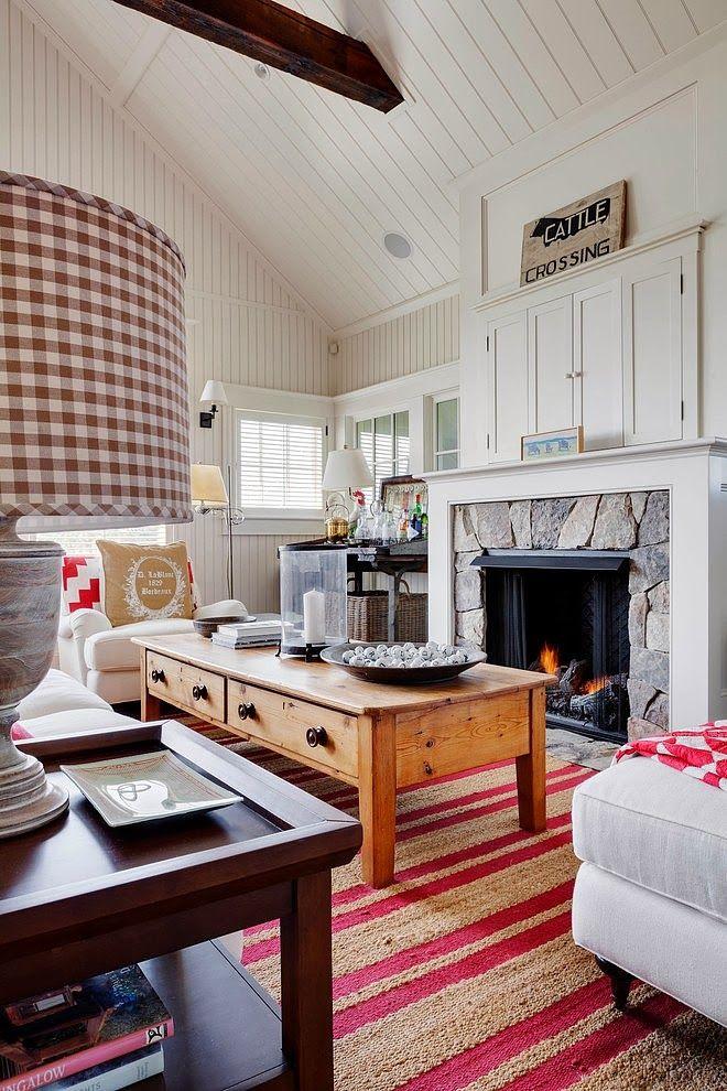 Minty Inspirations | wystrój wnętrz, dodatki i dekoracje do domu, zdjęcia, inspiracje: Biały domek w wiejskim stylu