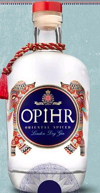 YANKEE SPIRITS Opihr Gin London Dry Oriental Spiced