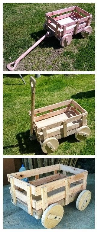 Pallet Projects - Pallet Wagon                                                                                                                                                                                 More