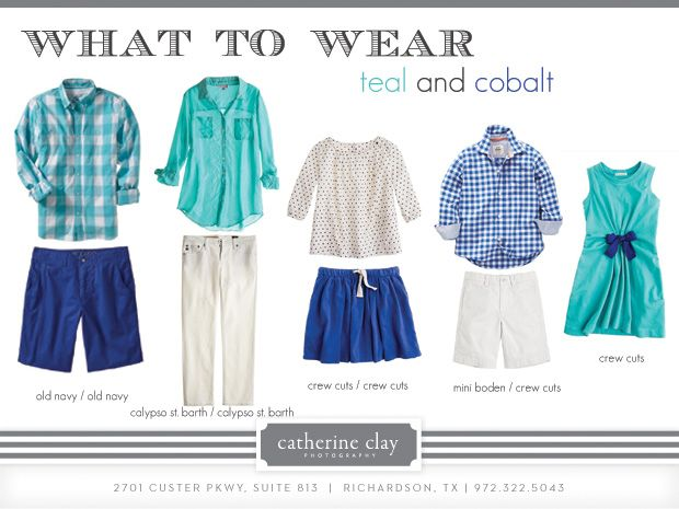 What to Wear Color Schemes for Summer Photos