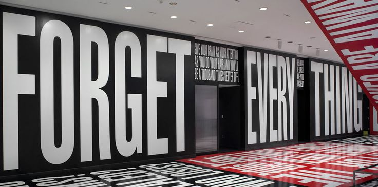 "Barbara Kruger ""Belief+Doubt"" Exhibition at the Hirshhorn Museum in DC - Aug 2013"