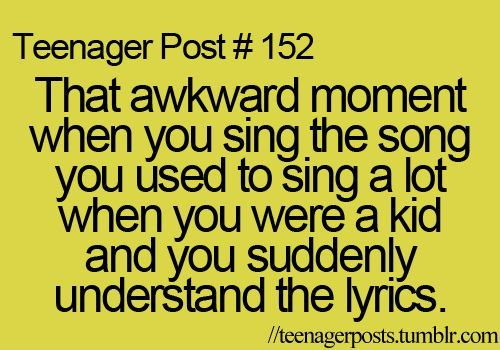 more like when you sing a song you haven't listened to since you were really young and all of a sudden the lyrics just flow out of your mouth like no problem: