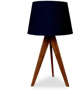 Tripod Lamp by Heartwood Furniture