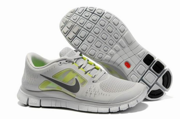 0eJtg Nike Free Run 3 Men's Running Shoes Pro Platinum/Reflective Silver-Pro Platinum
