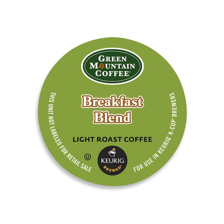 Green Mountain Coffee (Brown) Breakfast Blend K-Cups for Keurig Brewers (24 count)