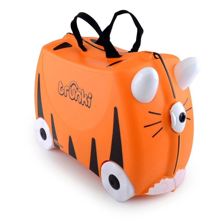 Trunki Tipu Tiger Ride On Suitcase - Buy Online Childrens Luggage