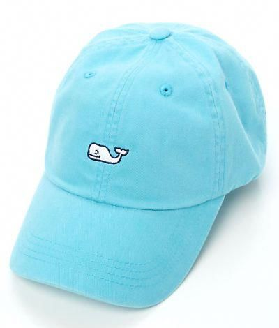 0f4d878a Vineyard Vines Whale Logo Baseball Hat- I like in pink, slate and navy  blue:) #baseballhats