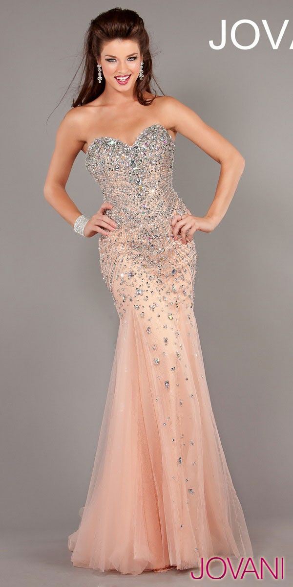 JOVANI GORGEOUS MERMAID DRESS (6837)