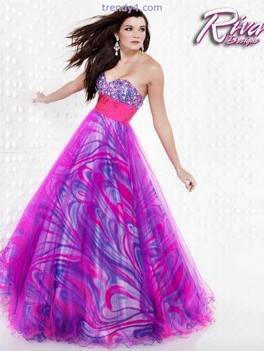 Trendy Purple Dresses