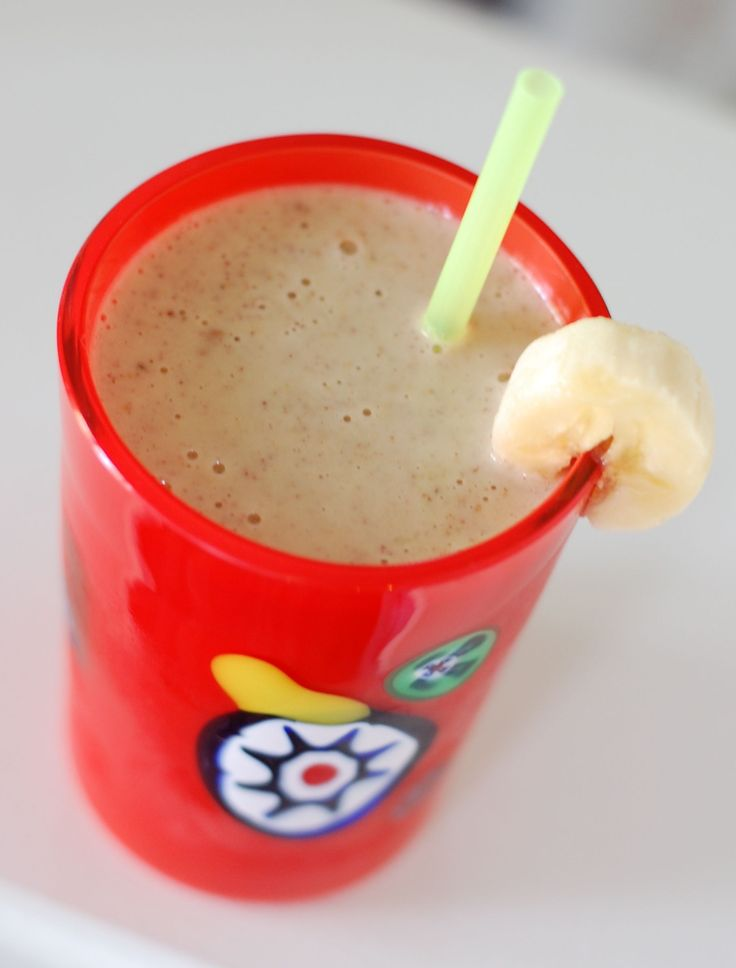 Recipe: Peanut Butter Banana Smoothie