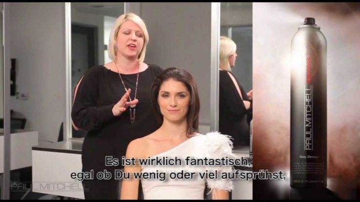 Paul Mitchell® Tutorial: Glamouröse Hochsteckfrisur mit Stay Strong®