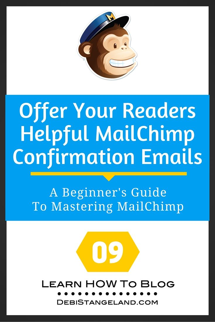 great mailchimp templates - 9 offer your readers helpful mailchimp confirmation