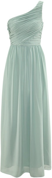 H Mint Green Grecian Dress maybe a sequinned belt n that would be cheaper