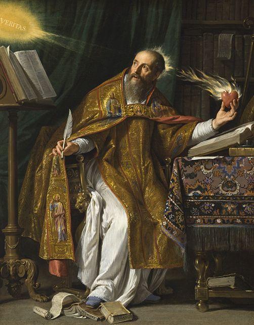 saint_augustine. Philippe de Champaigne