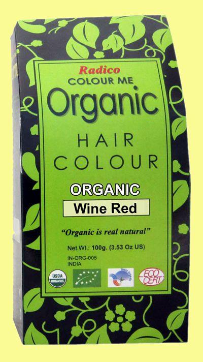 Wolkenseifen - Radico Pflanzliche Haarfarbe Wine Red