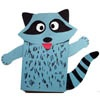 Raccoon and kissing hand activities and crafts