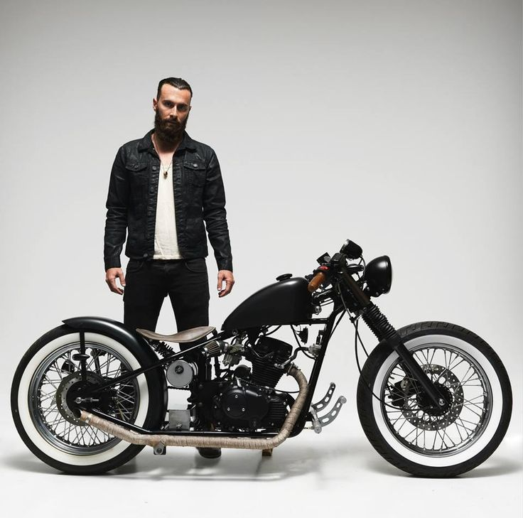 MOTORCYCLE HOOLISTER BOBBER 125 2013