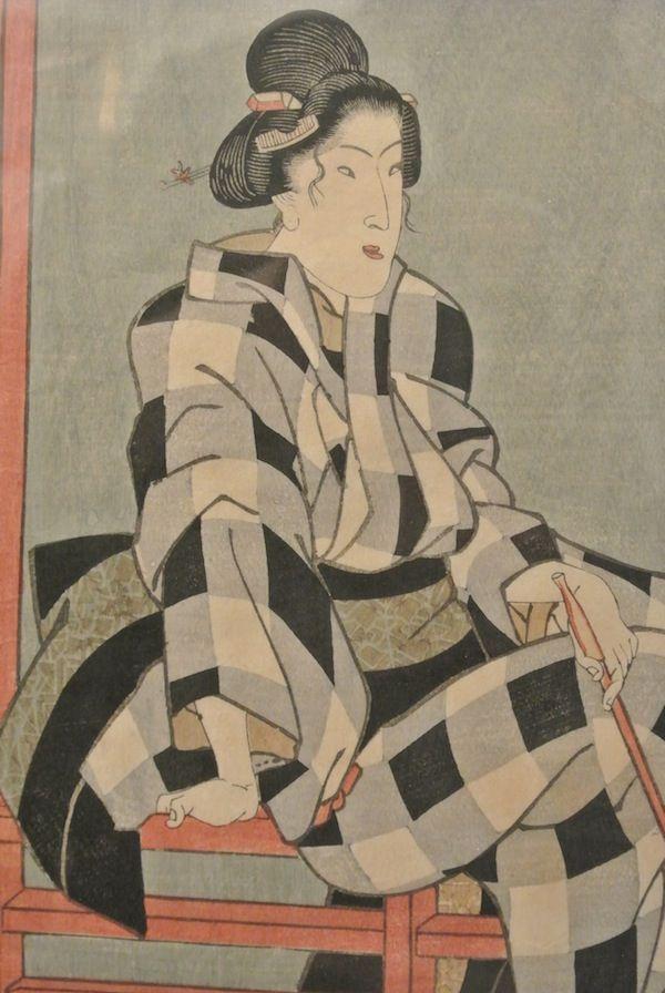 Utagawa Kuniteru – #Giappone, XIX sec. Autore: #Utagawa #Kiniteru (1808 – 1876). Dim. (h) 38 cm. More info:  Website: www.arte-orientale.com Email: arteorientale.bo@gmail.com