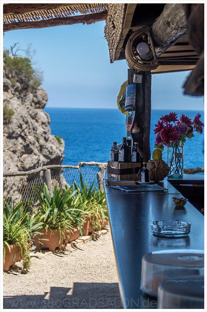 Restaurant Sa Foradada Wandern auf Mallorca beste Paella am Lochfels 180gradsalon