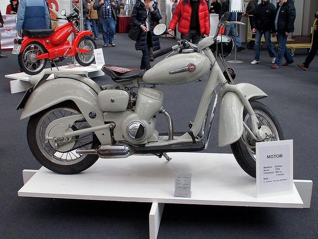 Motom Delfino 160 - 1955 by Maurizio Boi, via Flickr