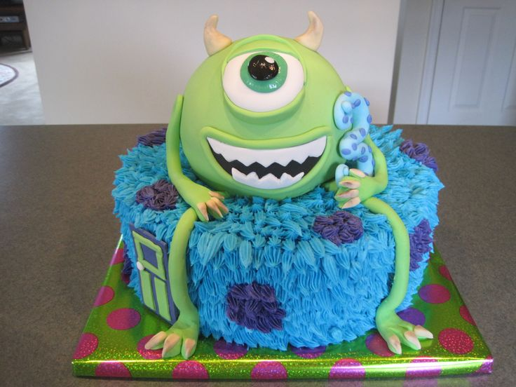 Monsters Birthday - Mike from Monsters Inc and Monsters University