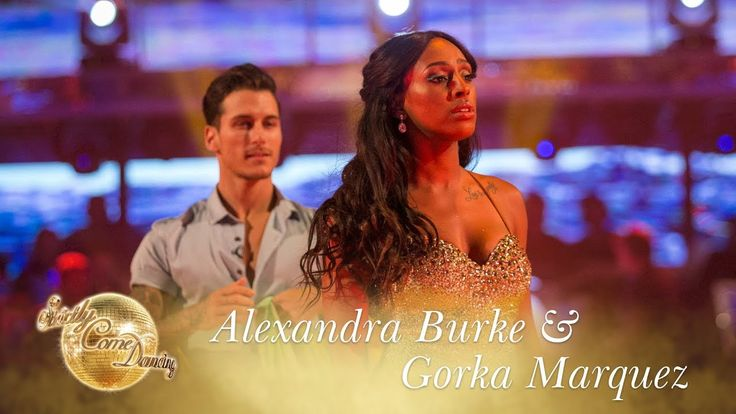 Alexandra Burke and Gorka Marquez Waltz to 'You Make Me Feel' - Strictly...