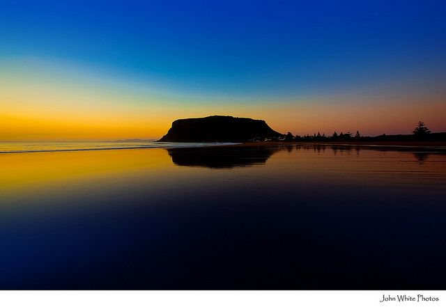 Dawn at Stanley. Tasmania. Australia. by john white photos, via Flickr (that big mountain in the background is called The Nut...you can get an amazing view from on top)