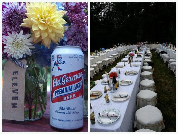 For Rent - Dishes, cutlery, jars for DIY Wedding or Big Party.