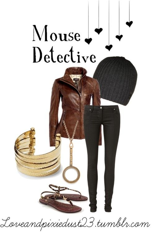 Mouse Detective Outfit