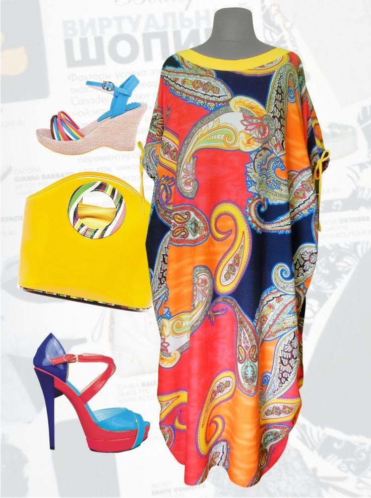 """32$ Летнее платье из штапеля свободного покроя для полных женщин """"Красные турецкие огурцы"""" Артикул 647, р50-64 Платья больших размеров  Платья свободного кроя больших размеров Платья в пол больших размеров  Летние платья больших размеров Платья макси больших размеров  Длинные платья больших размеров  Платья свободные больших размеров  Платья нарядные больших размеров  Дизайнерские платья больших размеров Красивые платья больших размеров  Модные платья больших размеров"""