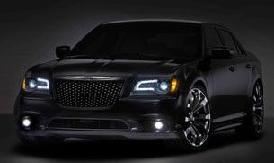 "Chrysler says this special 300C was ""created specifically with Chinese elements in mind,"""
