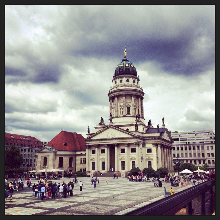 Берлин, Германия  Жандарменмаркт Berlin Germany Deutschland