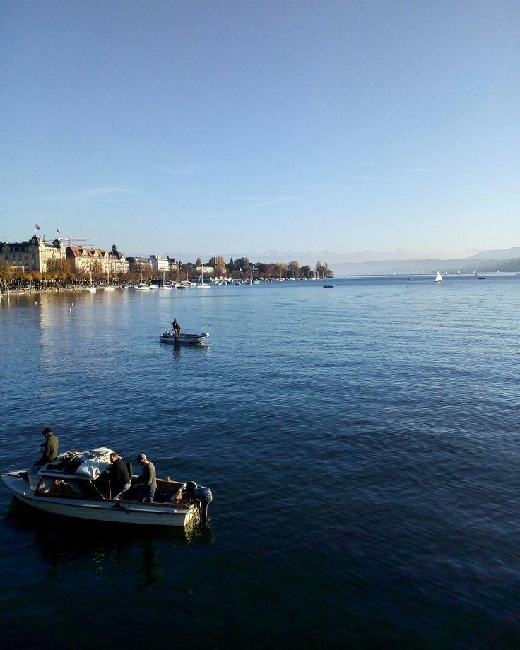 lake in Zurich