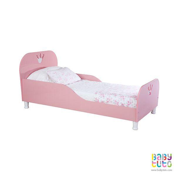 Cama de transición madera rosada, $89.990 (precio referencial). Marca Kidscool: http://bit.ly/1Juv3rg