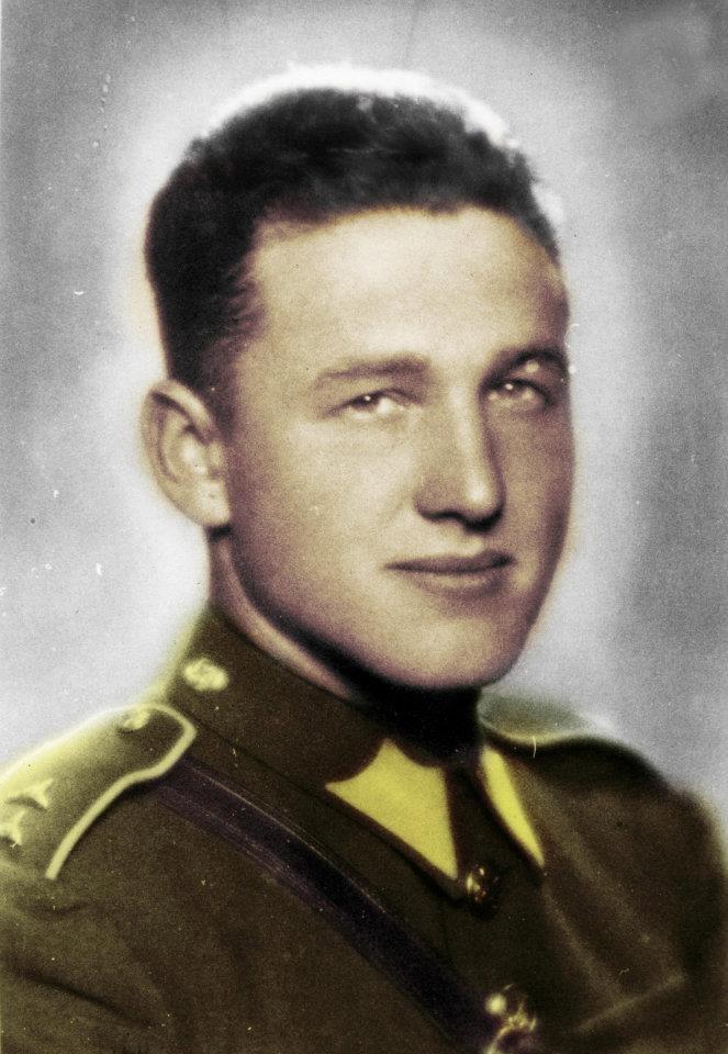 Cavalry Lieutenant Alfred Bartoš, commander of Silver A. https://www.facebook.com/Operace.Anthropoid