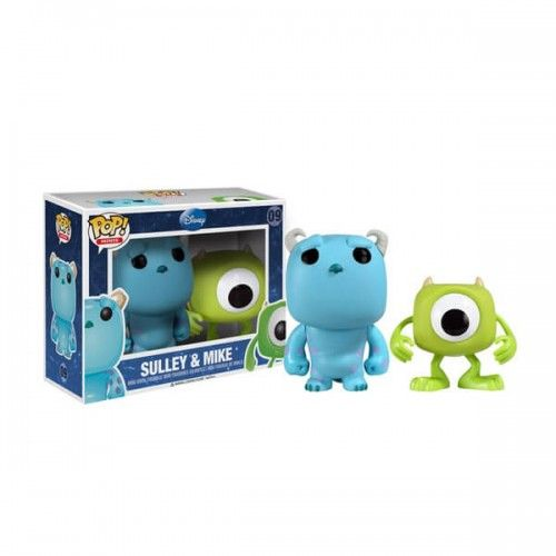 Funko Mania Funko Mini Sulley & Mike, Monster SA, Monstros SA, Disney Funko Mania