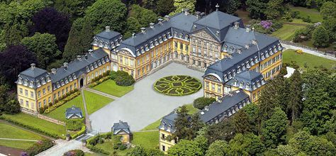 Luftaufnahme Residenzschloss Bad Arolsen