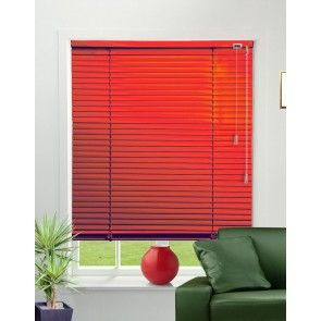 Lipstick Red Venetian Blind