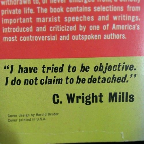 """what did c wright mills mean by the sociological imagination C wright mills, """"the promise [of sociology]"""" excerpt from the sociological imagination (originally published in 1959) the first fruit of this imagination--and the first lesson of the social science that embodies it--is the idea that the."""