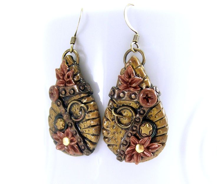 203 best My Polymer Clay Jewelry and Accessories images on Pinterest