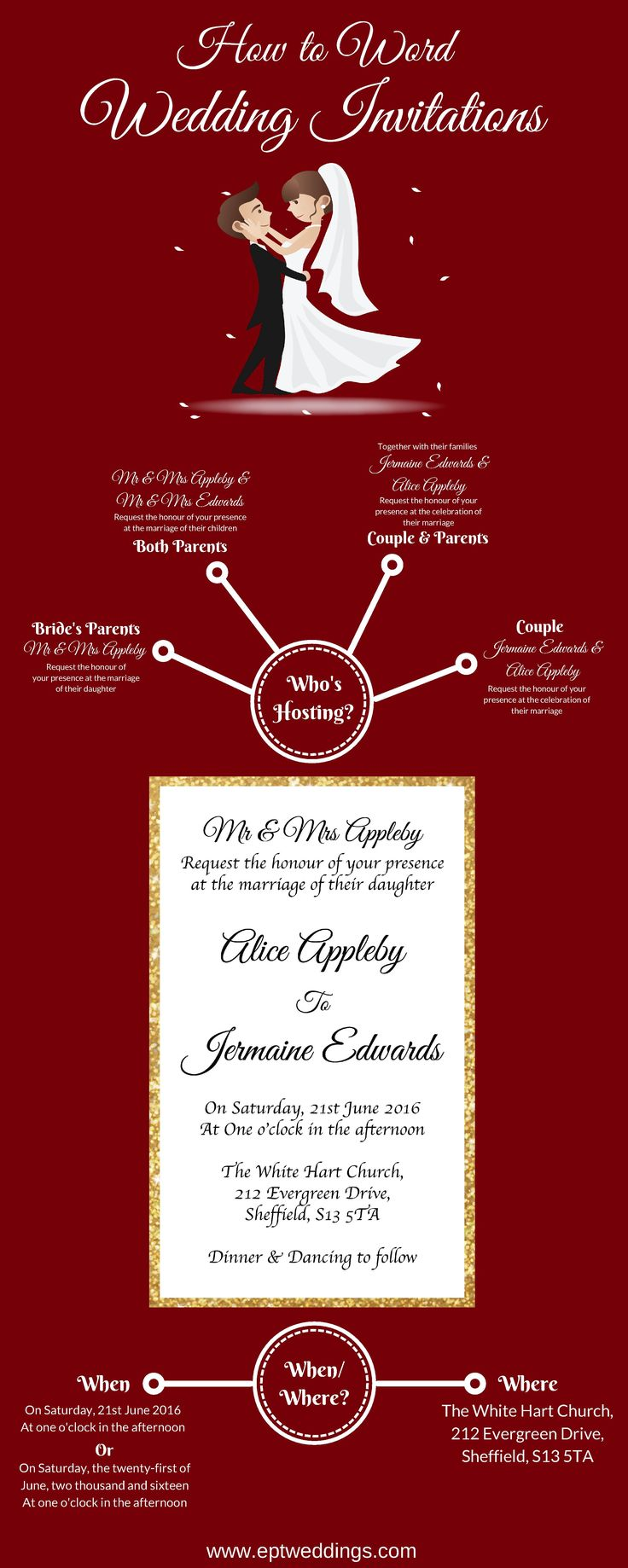 Awesome Wedding Invitation Wording Parents Vignette - Invitations ...