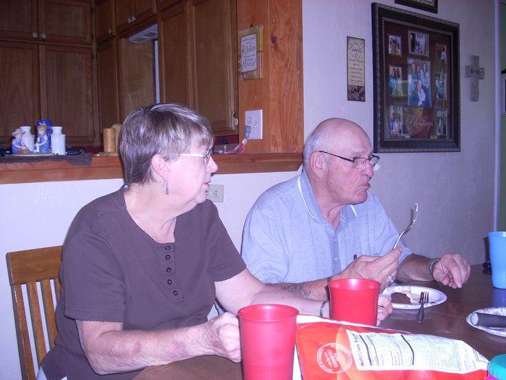 Grandma Edna and grandpa Dick at Stephanie's 22 nd Birthday