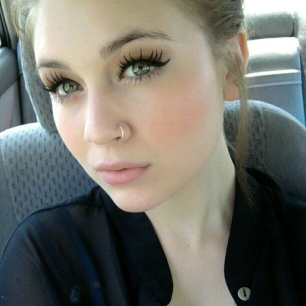 nose piercing ring - Google Search