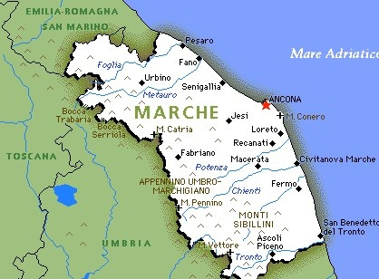 REGION MARCHE ITALY